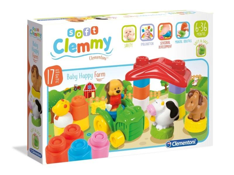 Clemmy Baby Boldog Farm építő - Clementoni