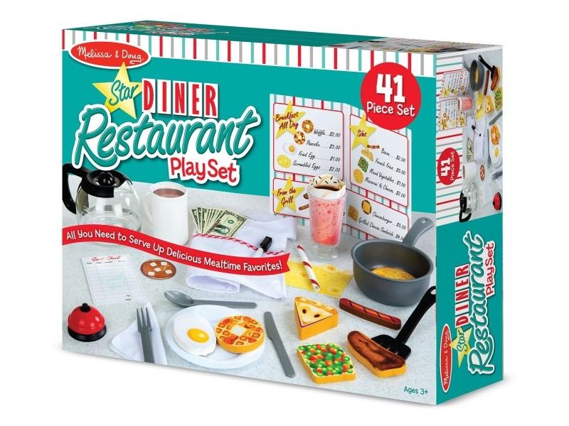 Vendéglátós éttermes játék - Melissa & Doug