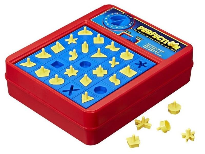 Perfection társasjáték - Hasbro