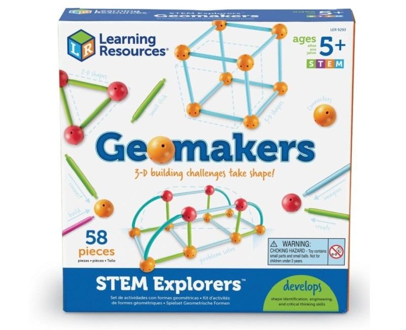 Stem Geomakers építőjáték - Learning Resources