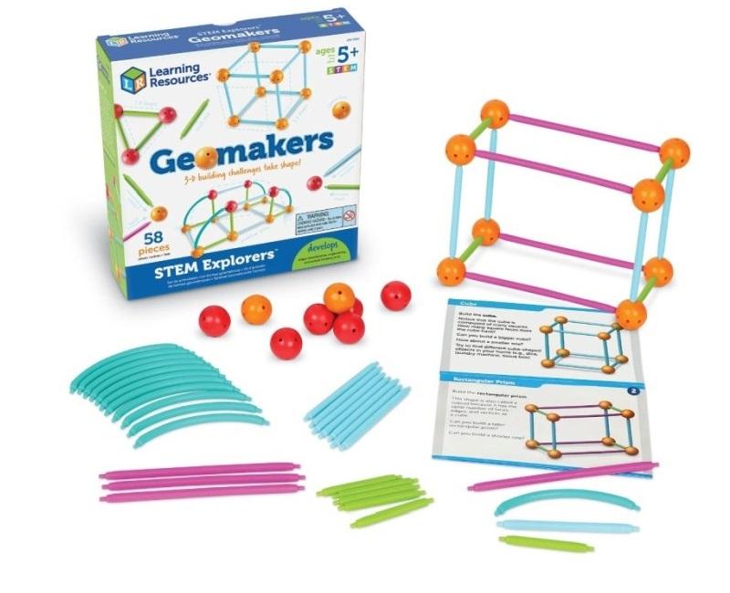 Geomakers Babylon jellegű építőjáték - Learning Resources