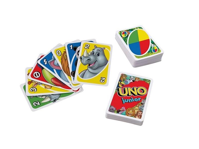 UNO Junior kártyajáték - Mattel