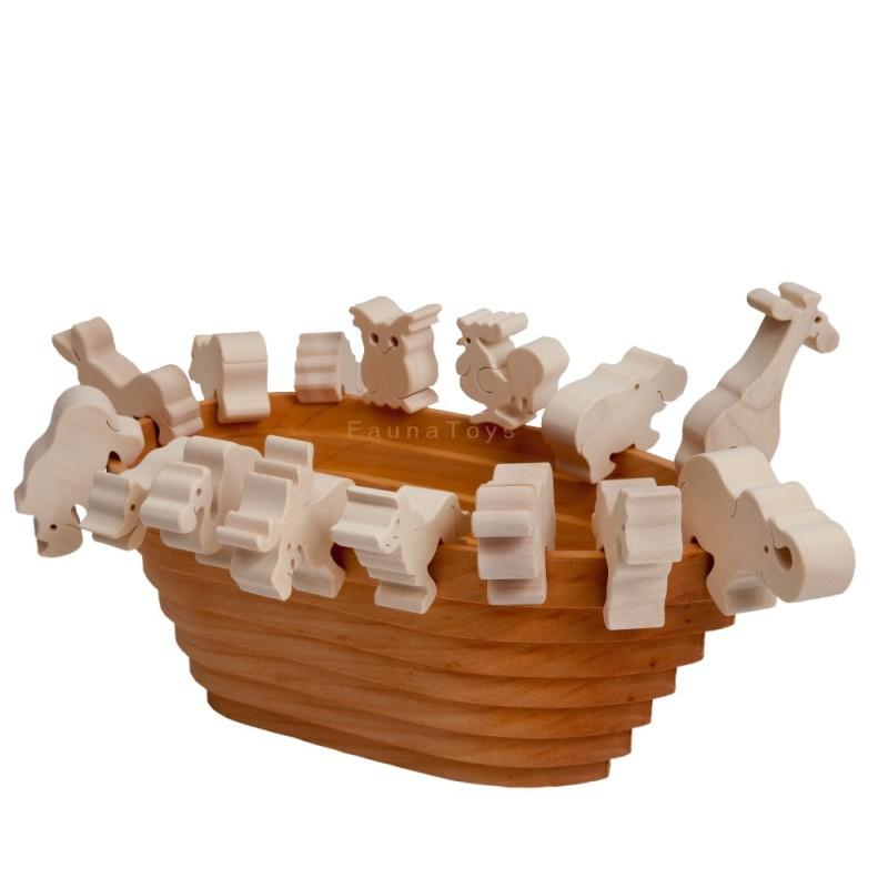 noé bárkája fajáték