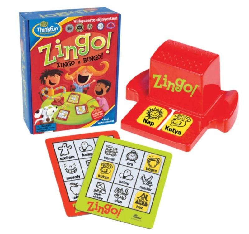 Zingó a Bingó társasjáték - Thinkfun