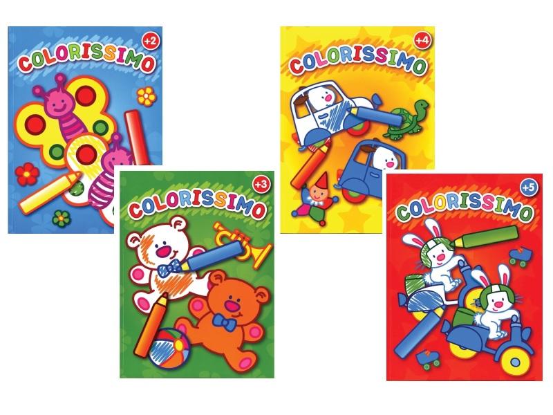 Színezőkönyv gyerekeknek - Colorissimo - 2-től 5 éves korig - Yoyo Books