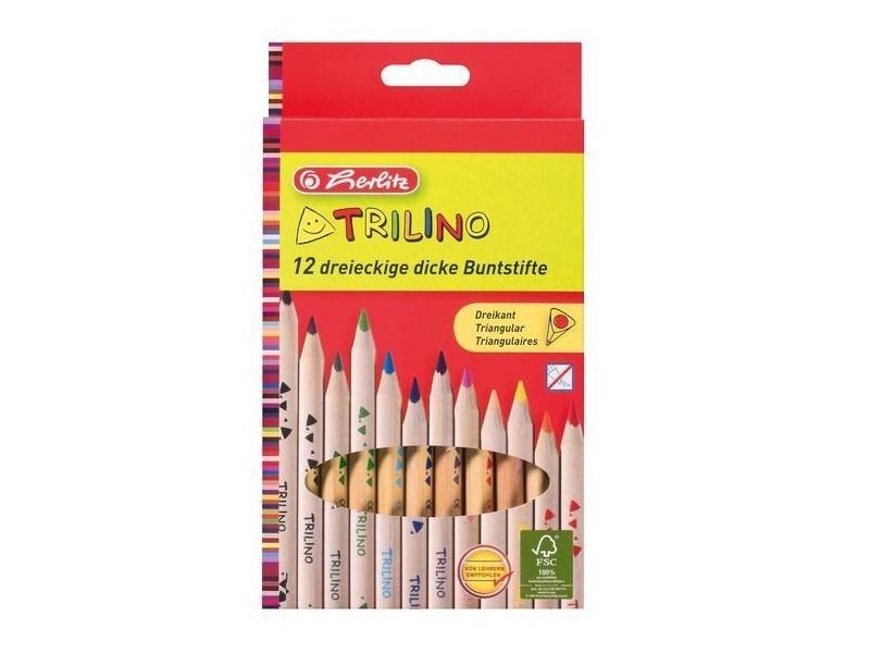 Trilino színes ceruza készlet - 12 db - Herlitz
