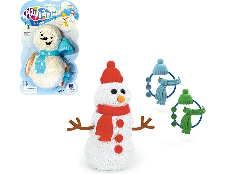 Playfoam® Habgyurma hóember építő - Educational Insights