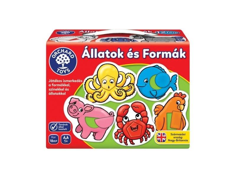 Állatok és alakzatok - Orchard Toys