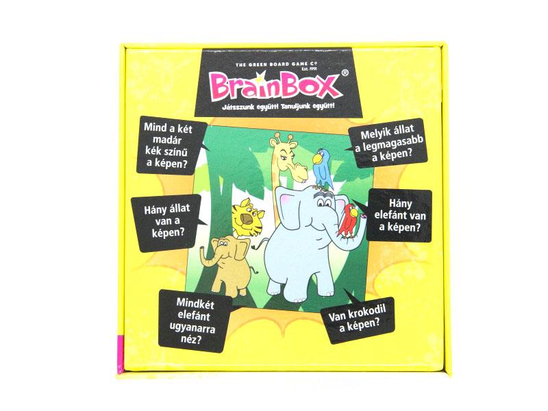 Brainbox társasjáték - Az első képeim