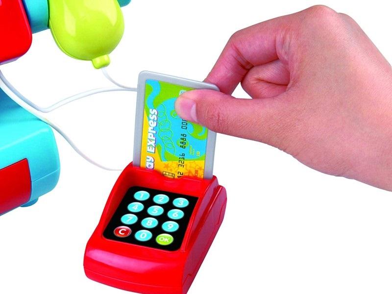 Játék pénztárgép - multifunkciós - Playgo