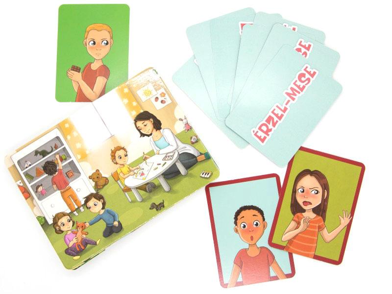 Érzel-Mese társasjáték az érzelmi intelligencia fejlesztéséhez - Játékliget