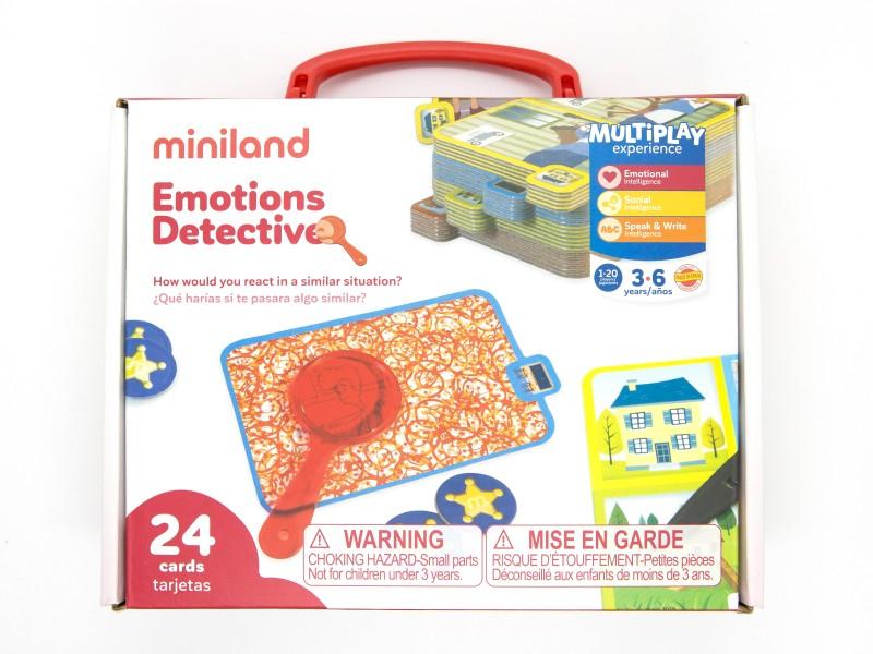 Érzelem-nyomozó társasjáték - Miniland Educational
