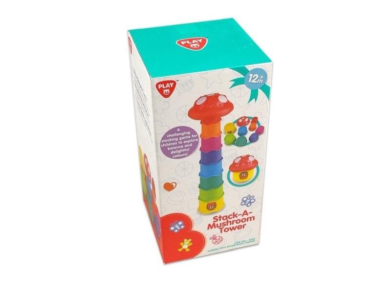 Gombás toronyépítő - Playgo
