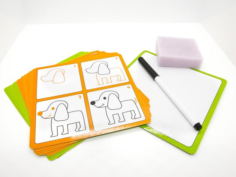 Rajzolni tanulok lépésről lépésre - Dohány Toys