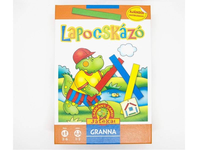 Sárkány Samu játékai - Lapocskázó - Granna