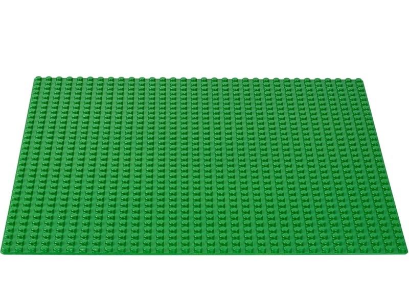 Lego alaplap - zöld - Lego 10700