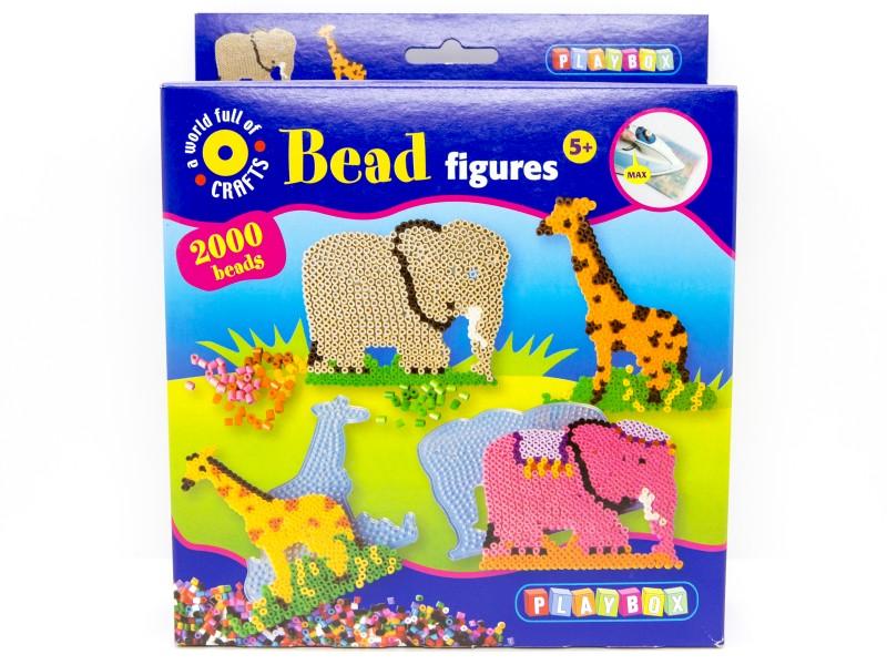 Gyöngykép készítő - többféle - 2000 db gyöngy - Playbox