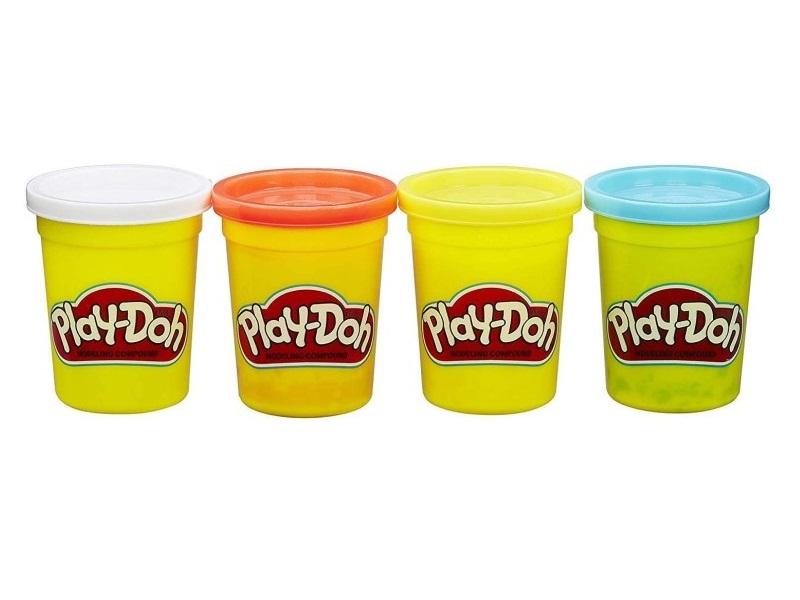 Gyurma készlet, 4 darabos - 3 féle kiszerelés - Play-Doh
