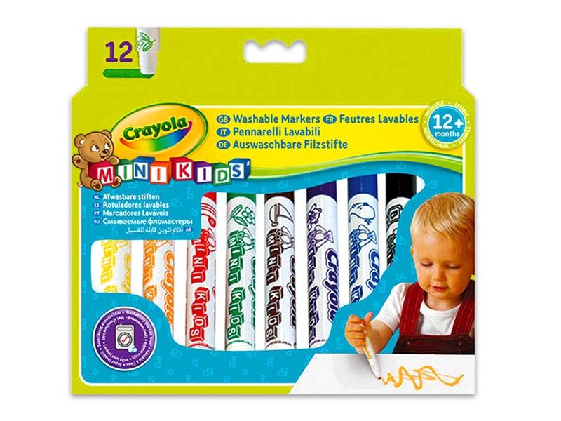 Tompa hegyű vastag filctoll - 12 darabos - Crayola