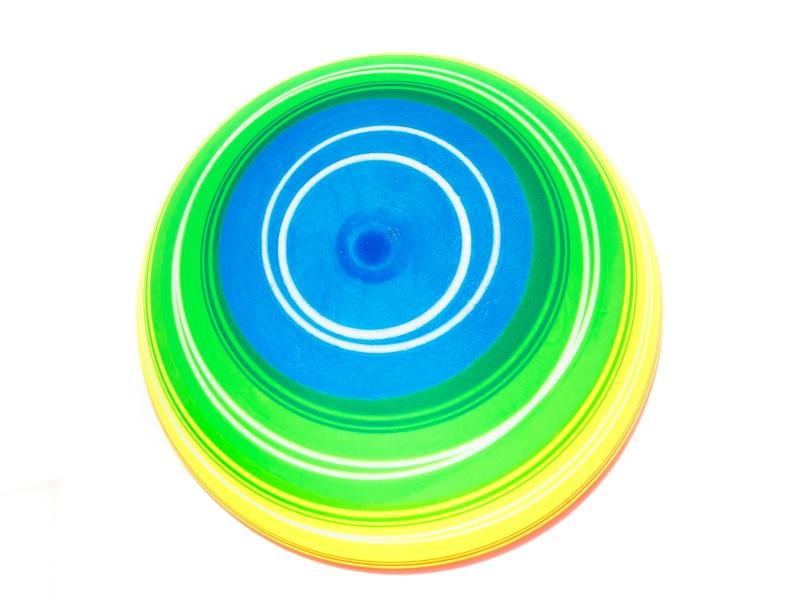 Színes szivárványos labda