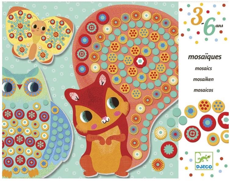 Mozaikkép készítő - Ezer virág - Djeco