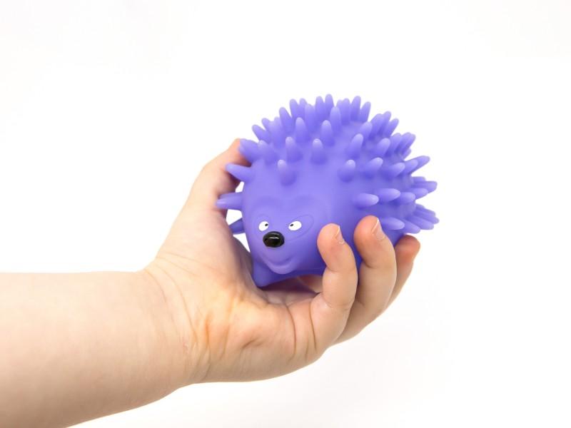 Tapintásfejlesztő játék - állatos labdák - 3 db - Playgo