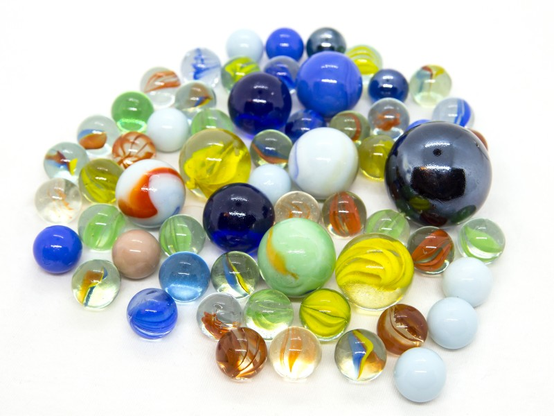 Üveggolyó játék - 0.5 kg - Toys Amsterdam