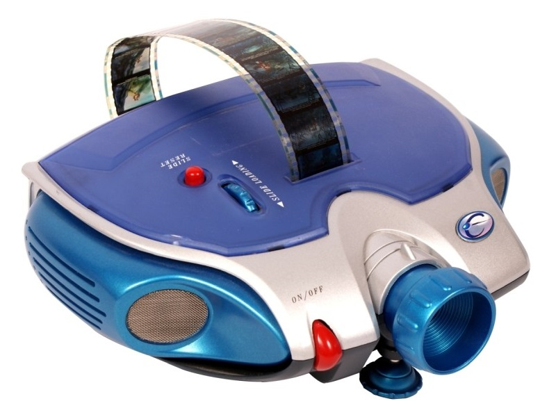 Diafilm vetítő - diavetítő gép ajándék Vuk 1. diafilmmel
