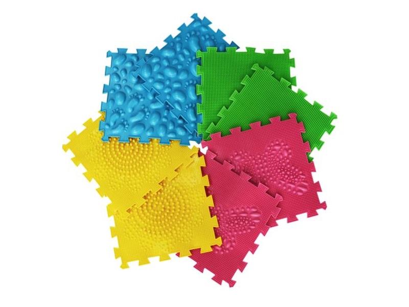 Szenzoros ortopédiai szőnyeg - Ortho Puzzle - 8 db
