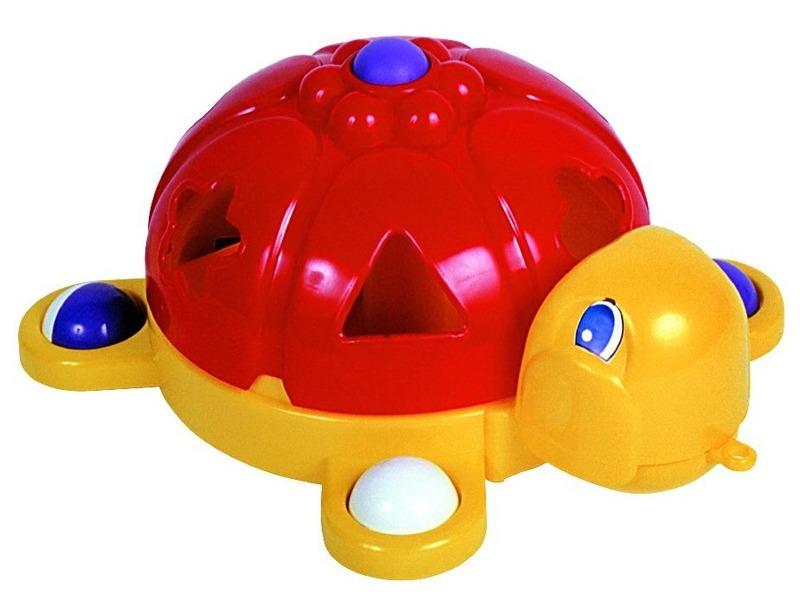 Húzható formabedobó teknős - Dohány Toys