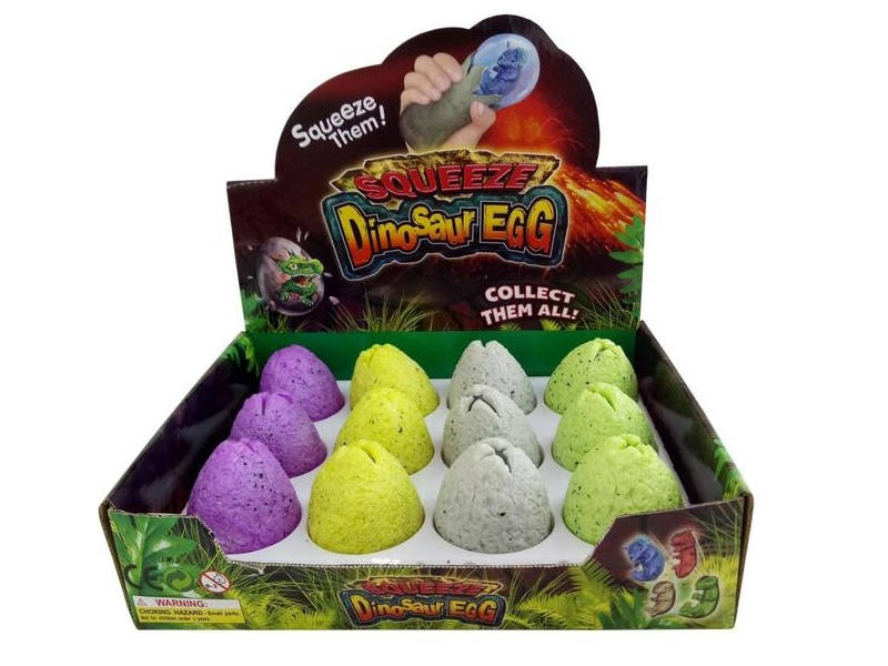 Nyomogatható dinoszaurusz tojás - ToyToyToy