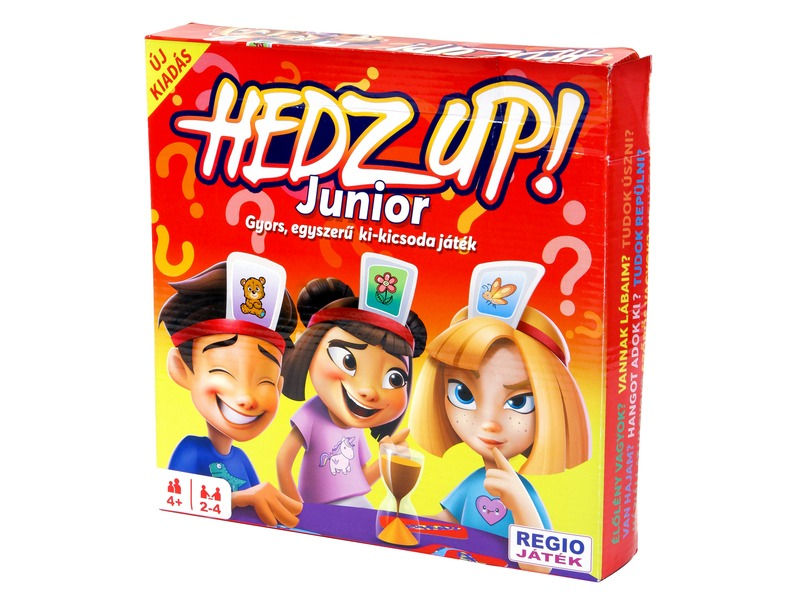 Hedz Up Junior társasjáték - Regio